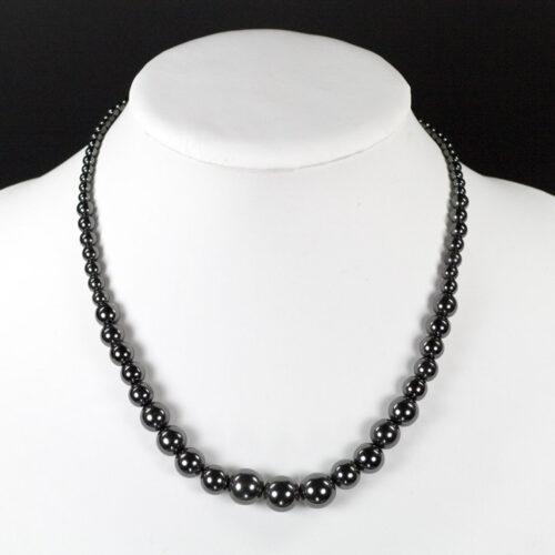 Veleprodaja Lipovac - GG Gradiška - Magnetna  ogrlica  - crni biser