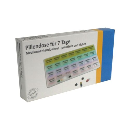 Veleprodaja Lipovac - GG Gradiška - Kutija za tablete 7 dana x 4 doze 1