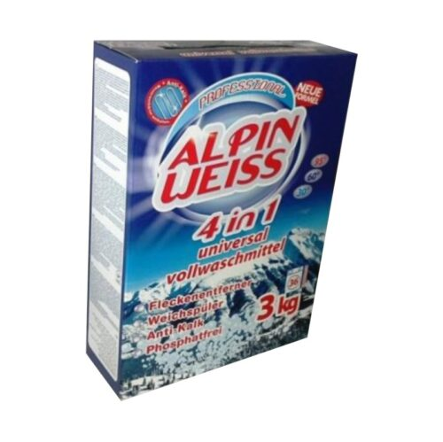 Veleprodaja Lipovac - GG Gradiška - Deterdžent za veš Alpin Weiss 4u1 3kg - BOX pakovanje 1