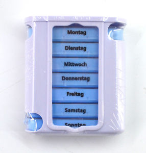 Veleprodaja Lipovac - GG Gradiška - Dozer za tablete 7 dana,13cmx11cmx4cm