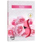 Veleprodaja Lipovac - GG Gradiška - Svijeća mirisna 6 komada,Ruža