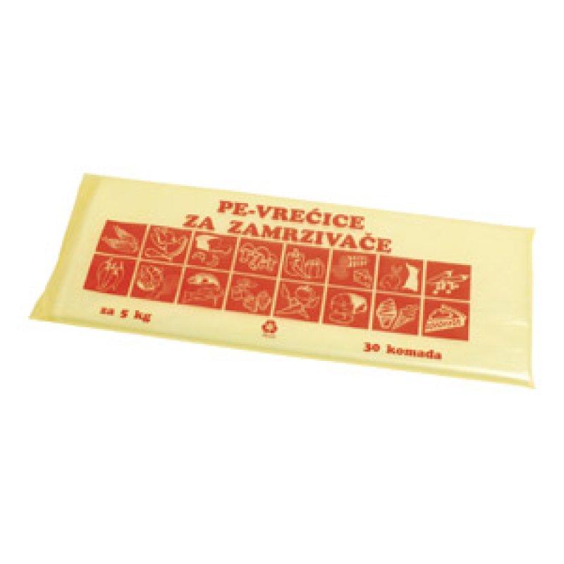 Veleprodaja Lipovac - GG Gradiška - Vrećice za zamrzivač 5 kg -30 komada