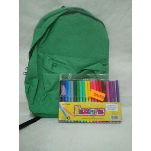 Veleprodaja Lipovac - GG Gradiška - Ruksak u boji + flomasteri 20 komada GRATIS