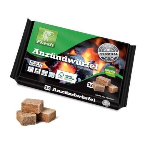 Veleprodaja Lipovac - GG Gradiška - Kocka za potpalu drvo vosak ECO 32/1