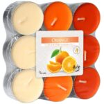 Veleprodaja Lipovac - GG Gradiška - Čajne svjećice mirisane, naranča, 18 kom